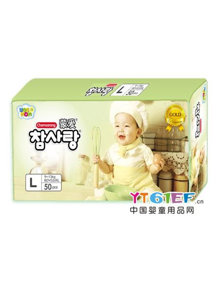蒙爱婴童用品金装超薄纸尿裤L码