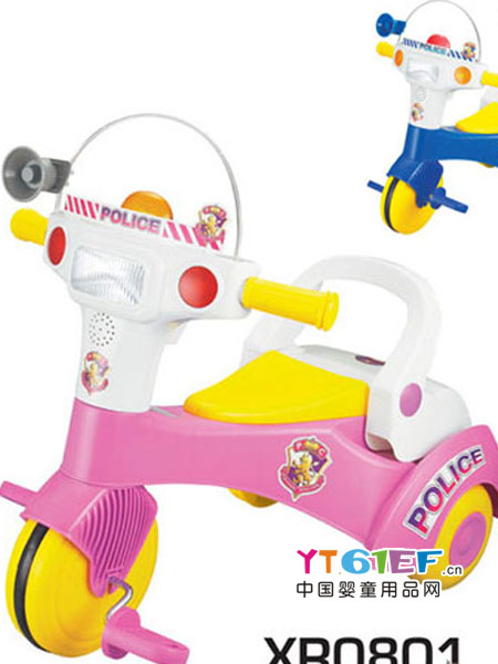 俏车子婴童用品宝宝滑行脚蹬车小孩音乐脚踏玩具车