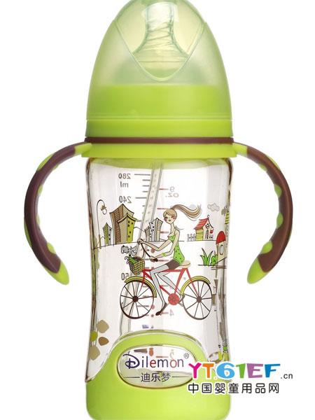 迪乐梦婴童用品美观底座时尚PPSU健康宽口径奶瓶