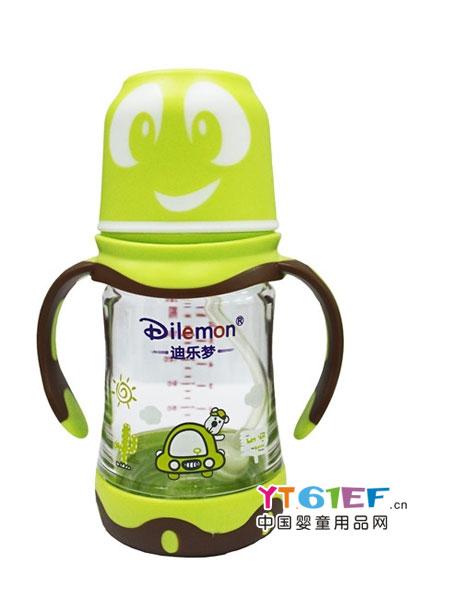 迪乐梦婴童用品健康耐摔防漏tritan宽口径奶瓶