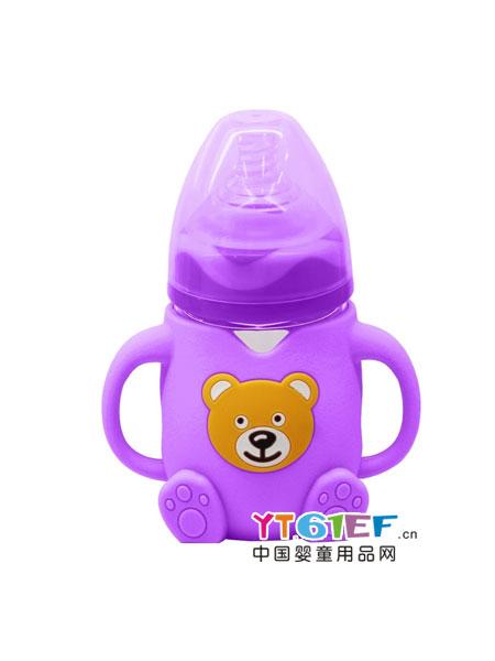 迪乐梦婴童用品可爱小熊奶瓶