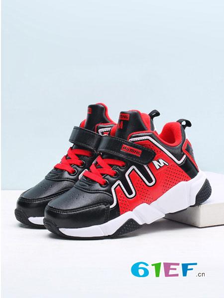 牧童童鞋.童鞋品牌2017秋冬男童女童运动鞋舒适保暖儿童休闲鞋