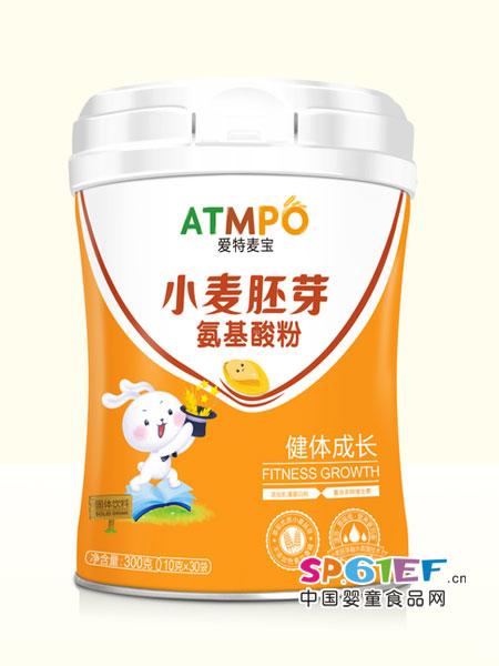 爱特麦宝婴儿食品小麦胚芽氨基酸粉健体成长