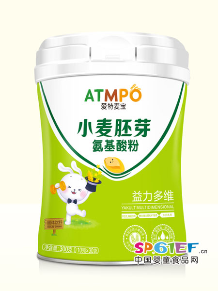 爱特麦宝婴儿食品小麦胚芽氨基酸粉益力多维