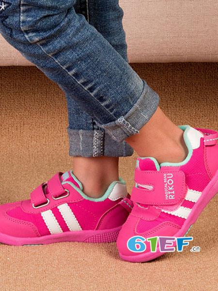 魔豆哩咕童鞋品牌时尚透气休闲运动女鞋