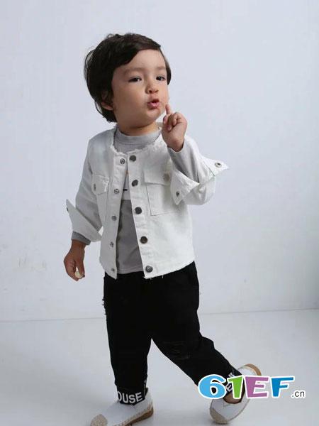 酷小孩童装品牌2018春夏纯棉长袖衬衫外套