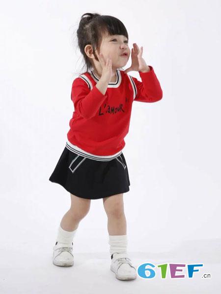 酷小孩童装品牌2018春夏纯棉圆领长袖T恤