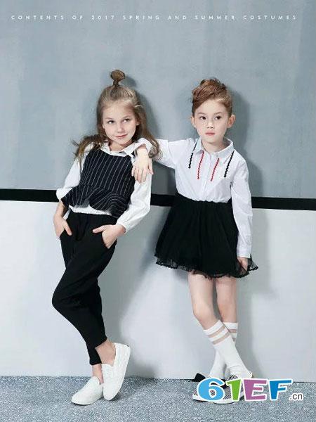 酷小孩童装品牌2018春夏韩版时尚衬衫上衣