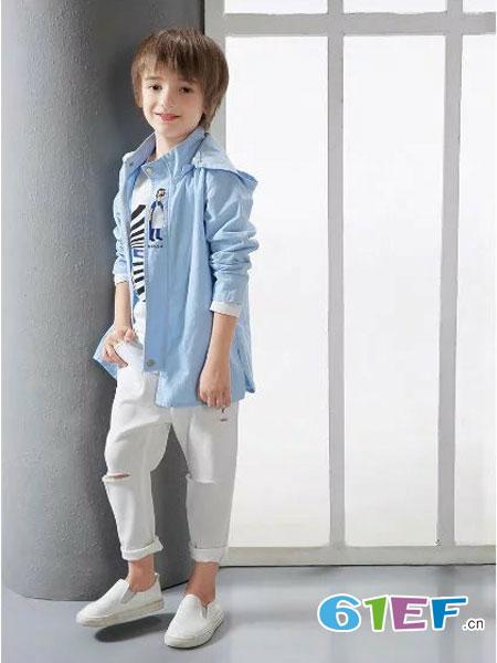 酷小孩童装品牌2018春夏韩版长袖休闲外套