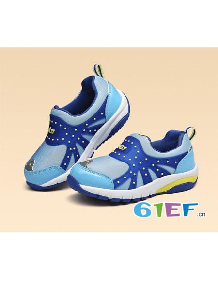 KBY童鞋品牌防滑男童透气软底机能鞋春秋女童运动鞋