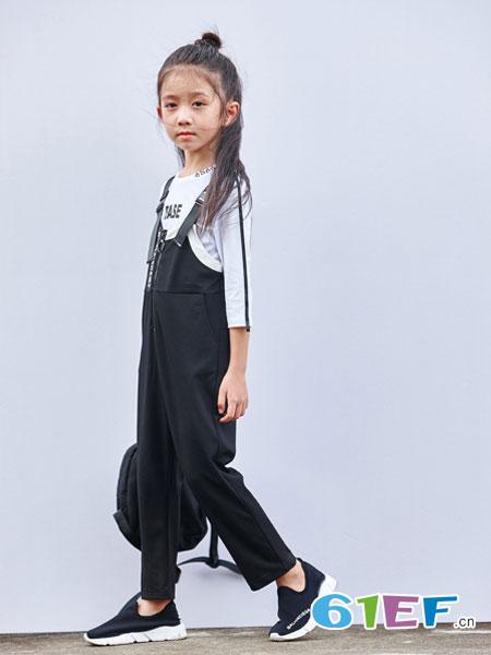 玛玛米雅童装品牌2018春夏百搭时尚连衣裤
