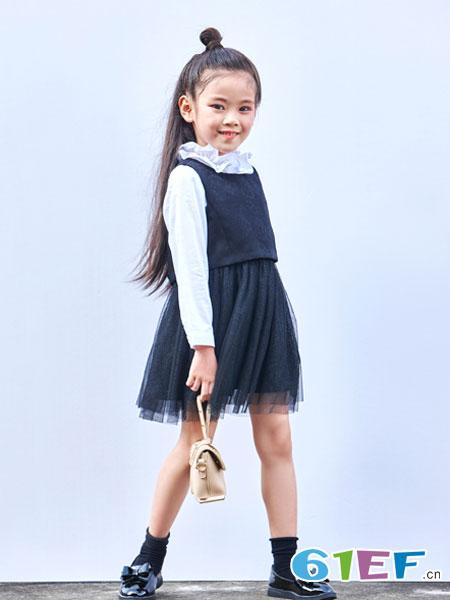 玛玛米雅童装品牌2018春夏韩版公主裙无袖连衣裙
