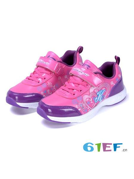 酷乐熊童鞋品牌运动鞋秋冬季女大童鞋儿童休闲波鞋女孩旅游鞋