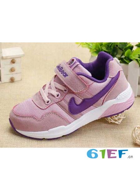 酷乐熊童鞋品牌中童休闲鞋儿童跑步波鞋