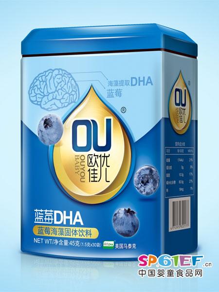 欧优佳儿婴儿食品蓝莓海藻固体饮料