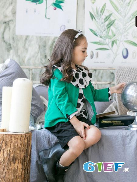 五月童品 mayosimple童装品牌2018春夏个性可爱长袖外套