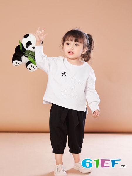 贝布熊BeiBuXiong童装品牌2018春夏时尚可爱纯棉上衣
