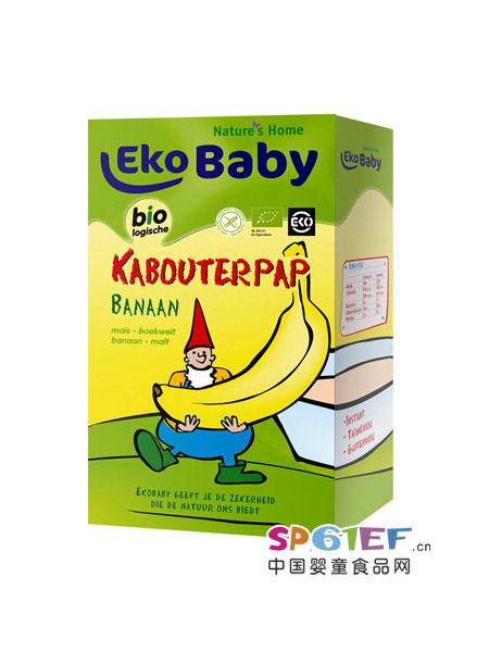 爱荷美婴儿食品婴幼儿香蕉米粉