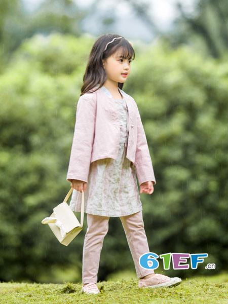 琦瑞德泽童装品牌2018春夏韩式甜美短装外套