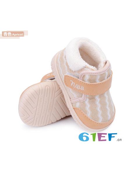 娜拉宝贝童鞋品牌男女婴儿鞋子软底秋冬机能鞋