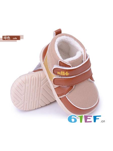 娜拉宝贝童鞋品牌珊瑚绒婴儿鞋防滑学步鞋