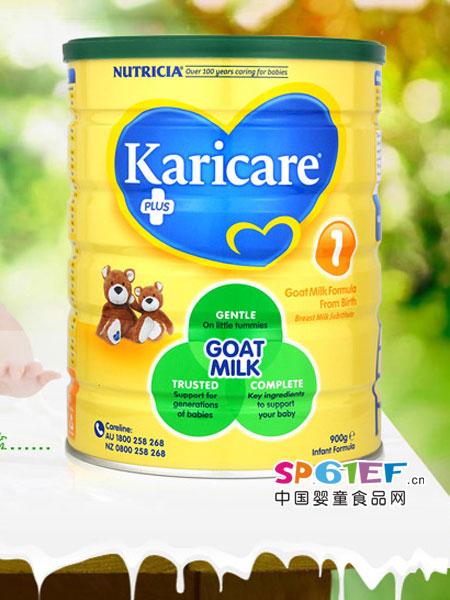 Milk Family婴儿食品Karicare可瑞康羊奶粉1段900g