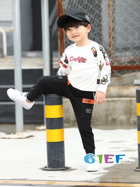 卡儿菲特童装品牌加盟 统一装修标准指导