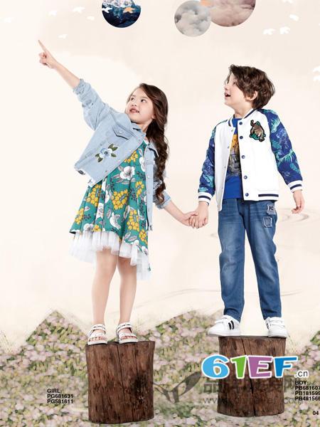 东莞知名品牌铅笔俱乐部,专业打造儿童时尚服饰