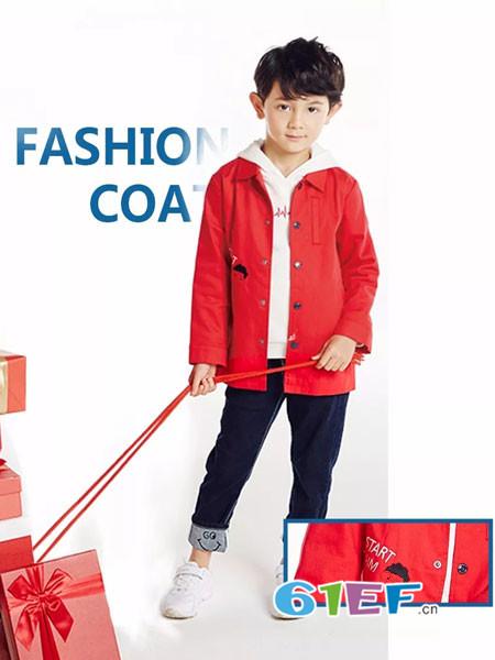红蜻蜓KIDS童装品牌2018春夏绅士风采外套