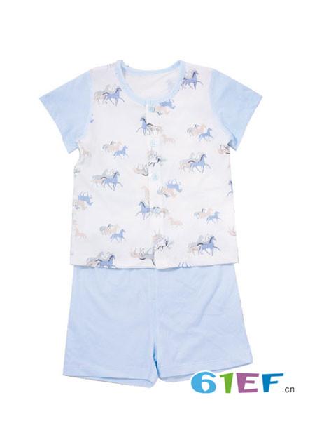 璐·迪尔童装品牌2018春超薄纯棉宝宝短袖