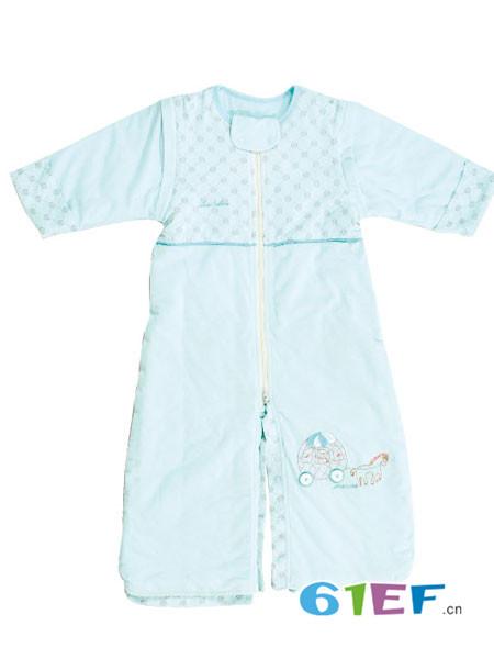 璐·迪尔龙8品牌2018春纯棉睡衣睡袍儿童加厚保暖