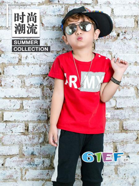 波波龙龙8国际娱乐官网品牌2018春夏休闲时尚百搭字母男T恤