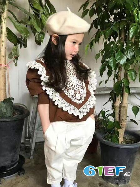 小嗨皮童装品牌2018春夏宽松上衣