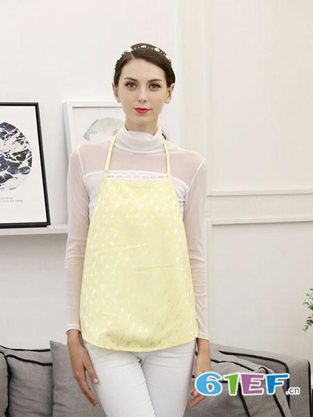 金时尚孕妇品牌2018春夏芒果双层100%银纤维肚兜