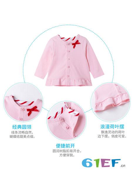贝贝怡童装品牌以希望之绿诠释初生生命