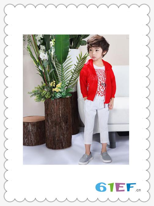 SCIACCAmini夏卡豆丁龙8国际娱乐官网品牌2018春夏红色休闲百搭外衣