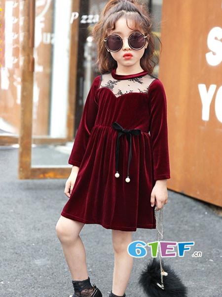 妙尼熊童装品牌演绎贵族法式潮流时尚的轻奢生活与品味