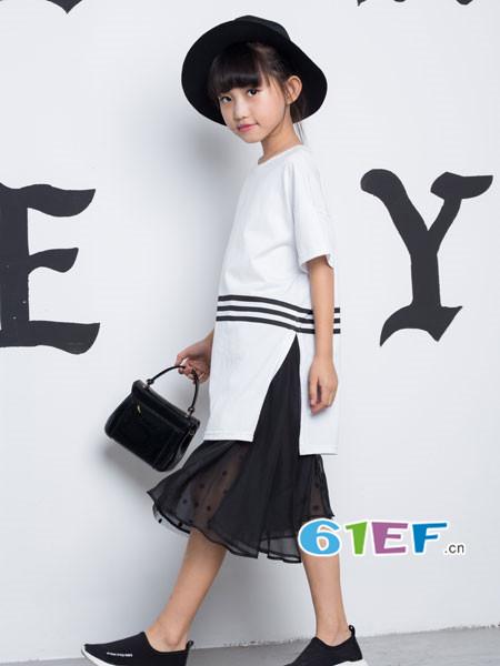 OKstar欧卡星龙8国际娱乐官网品牌2018夏时尚优雅文艺拼接连衣裙
