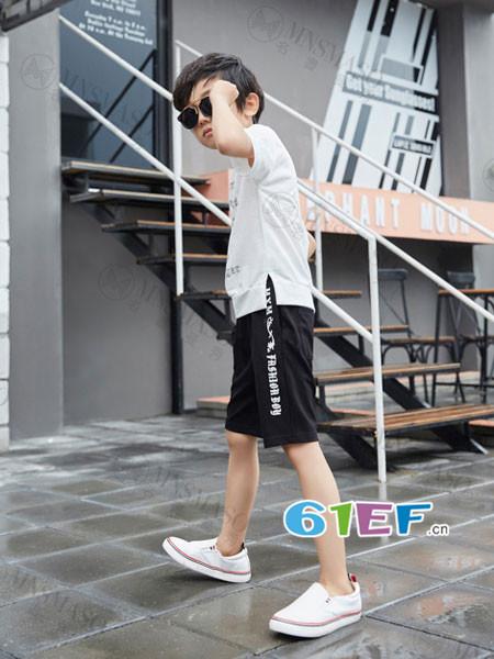 名书曼秀龙8国际娱乐官网品牌2018夏休闲时尚简约短袖T恤