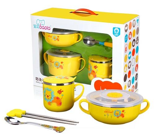 宝啦儿童餐具,让新生儿妈妈不再烦恼