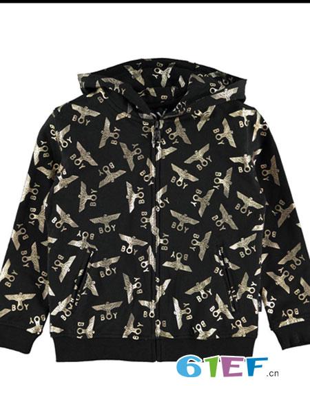 cloudokids童装品牌2018春夏纯棉运动外套夹克