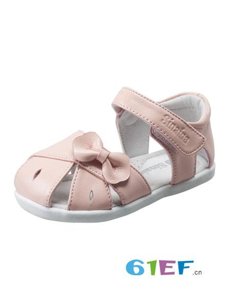 斯乃纳童鞋品牌2018春夏学步鞋小童鞋软底透气女童单鞋