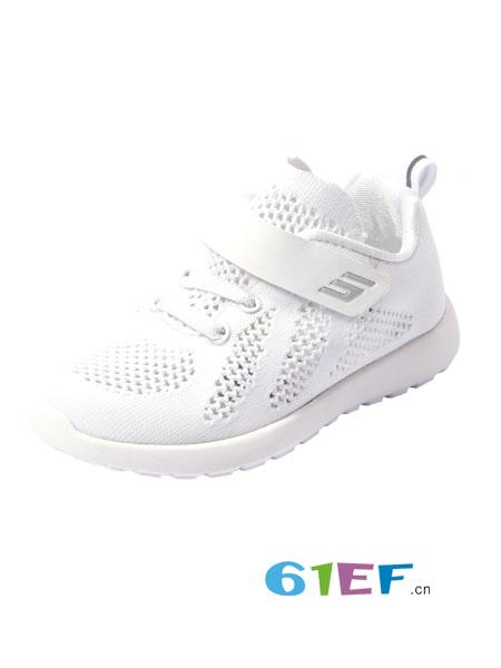 斯乃纳童鞋品牌2018春夏中大童轻便透气网孔运动鞋休闲跑步鞋