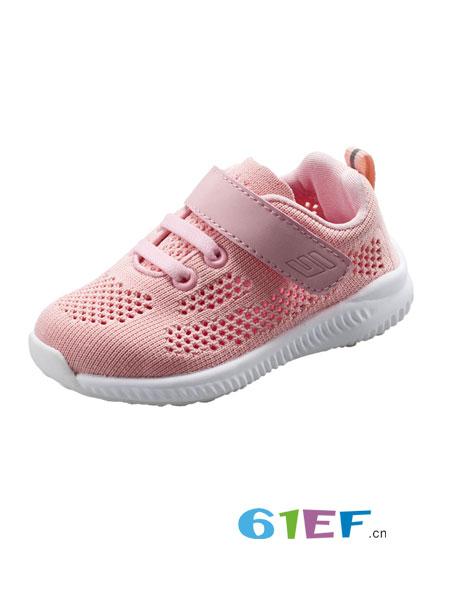 斯乃纳童鞋品牌2018春夏透气轻便休闲儿童单网网布运动鞋