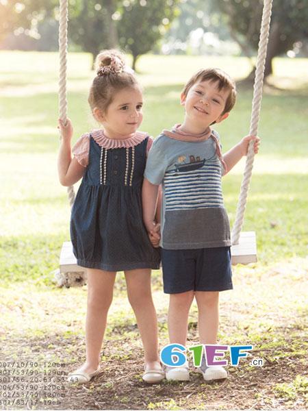 PIPPY童装品牌  强调自然、舒服、素雅的独特风格