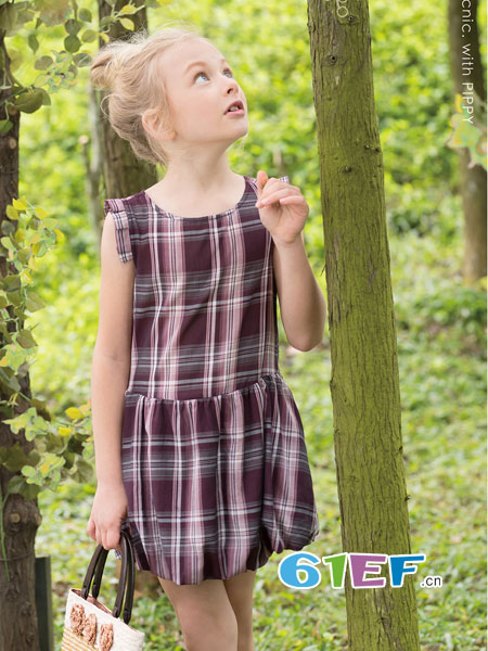 PIPPY童装品牌2018春夏吊带裙可爱公主蓬蓬裙新款