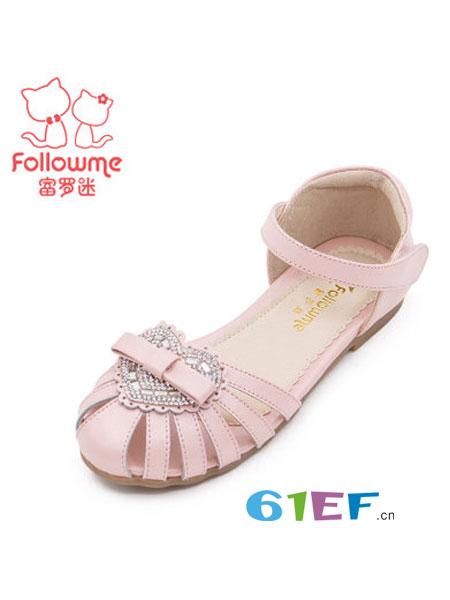 富罗迷童鞋品牌2018春夏时尚糖果色宝宝儿童凉鞋