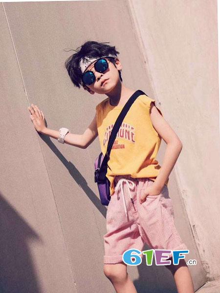 斑尚潮童童装品牌2018春夏新款儿童外穿百搭休闲裤大童