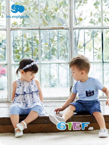 丽婴房龙8国际娱乐官网品牌2018春夏 宝宝上衣女小童可爱淑女上衣T恤