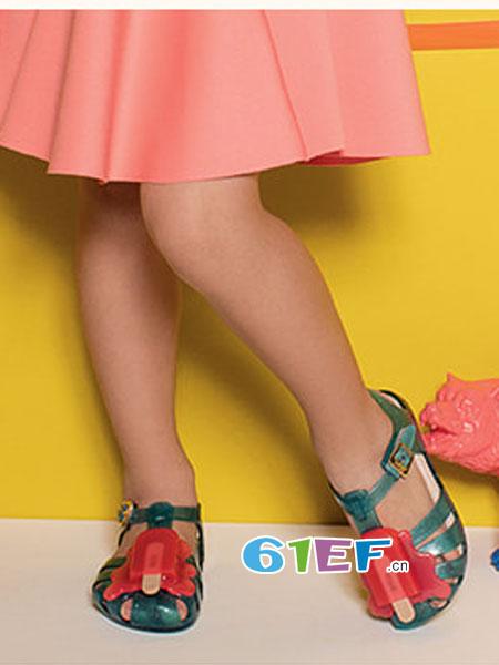 TOEBOX童鞋品牌2018春夏香香鞋冰棒冰淇淋宝宝凉鞋